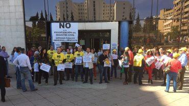 Otra movilización contra la privatización del Registro Civil
