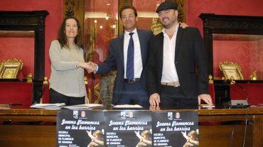 Ayuntamiento de Granada y FundaciónCruzcampo potencian el 'Flamenco en los Barrios'