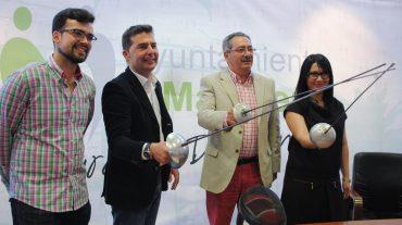 Maracena renueva su colaboración con el club de esgrima