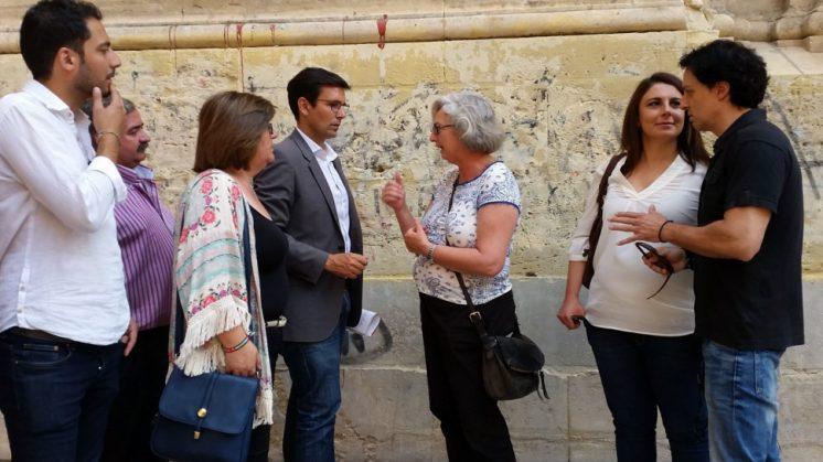 El socialista pondrá en marcha el programa programa 'Granada es patrimonio'. Foto: aG.