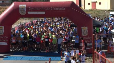 Más de 500 corredores se dan cita en la I Carrera Benéfica ASOGAF de Ogíjares