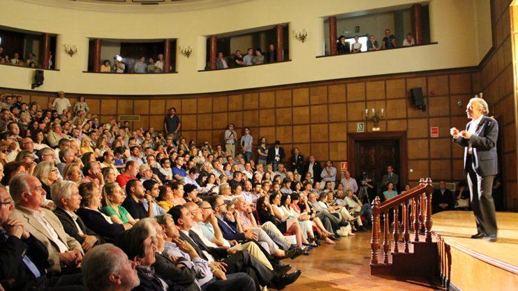 Sánchez Montesinos, durante el acto celebrado este lunes. Foto: aG