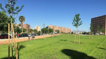 Los vecinos de Albaida ya disponen de nueva zona verde