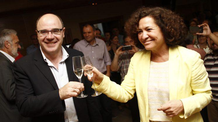 Aranda fue elegida rectora el pasado miércoles. Foto: Álex Cámara