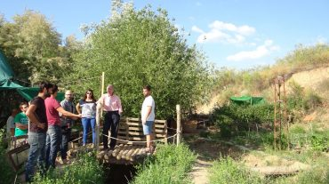 Sánchez-Montesinos se comprometea crear huertos urbanos en espacios verdes de la UGR