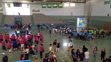 Unos 400 alumnos con diferentes capacidades se reúnen en el X Encuentro Deportivo de Centros Específicos de Educación Especial