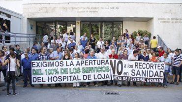 """Las Juntas de Personal del SAS de Granada exigen a la Administración que pare y se baje del """"carro de los recortes"""""""