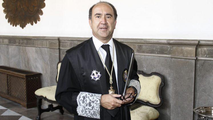 El nuevo presidente de la Audiencia Provincial de Granada, José Luis López. Foto: Álex Cámara