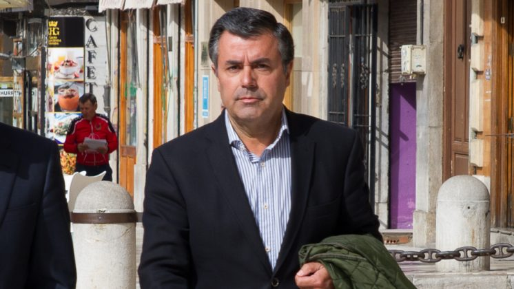 Ignacio Fernández Sanz, el día que acudió al juicio. Foto: Álex Cámara