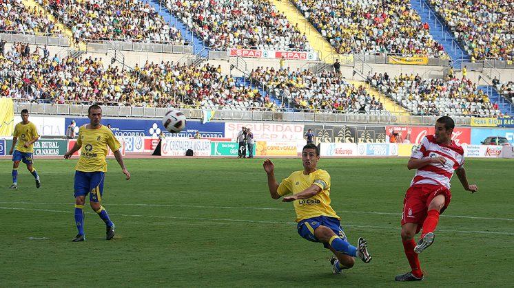 Las Palmas y Granada se vieron por última vez en la campaña 2010-2011 en Segunda División. Foto: Luis F. Ruiz (archivo)
