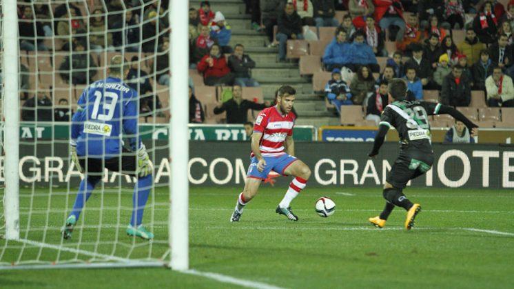 El delantero Ortuño pasará a ser propiedad de la UD Las Palmas. Foto: Álex Cámara