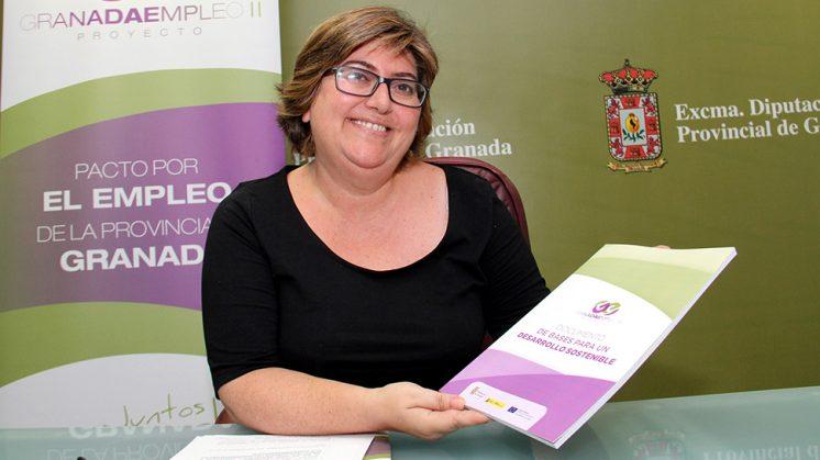 La diputada de Empleo y Desarrollo Sostenible, Ana Muñoz. Foto: aG