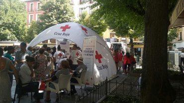 Éxito de participación en el 'Tour de los Primeros Auxilios'