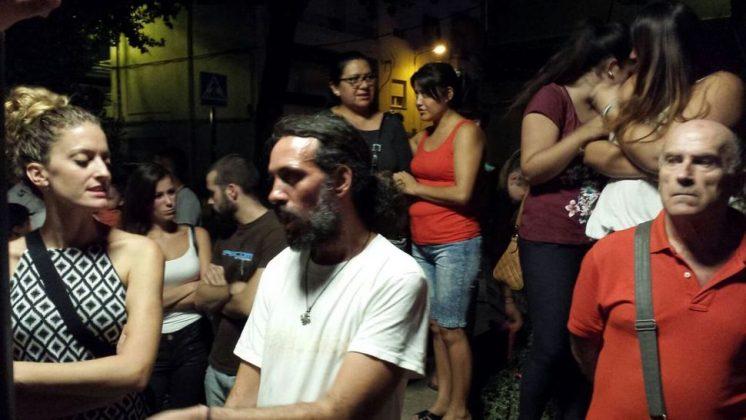 Marcos también ha estado presente en la concentración. Foto: @manutorrestv