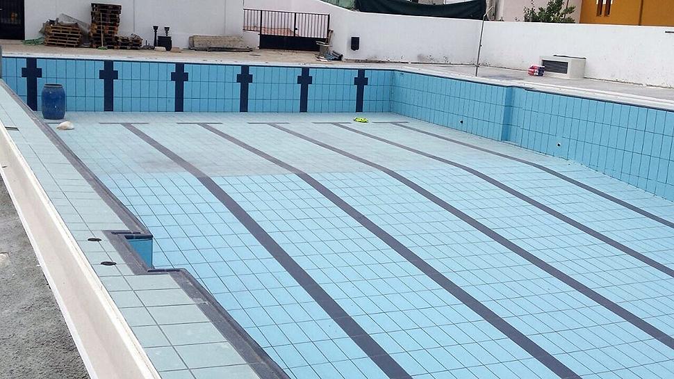 Ahora granada g ev jar ultima el arreglo de su piscina for Piscina municipal de granada