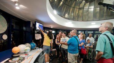 Cómo observar las Perseidas, en las sesiones de Planetario en el Parque de las Ciencias