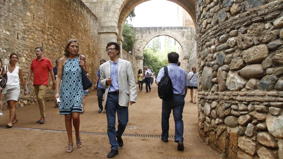 Abre tras su reforma el camino medieval de la Cuesta del Rey Chico, que une Alhambra y Albaicín
