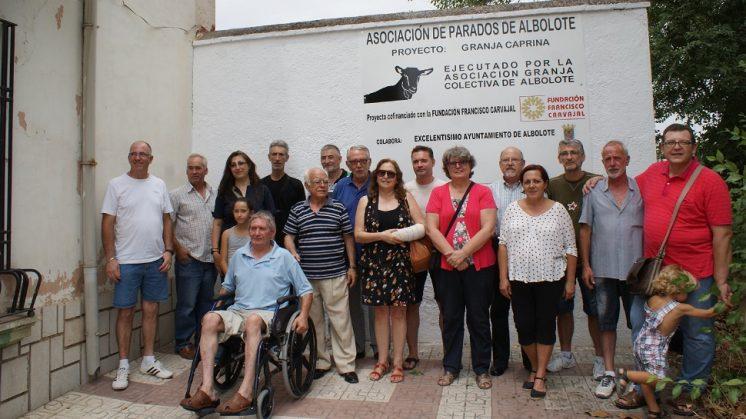 Empieza a rodar la 'Granja Caprina' de la asociación de parados de Albolote