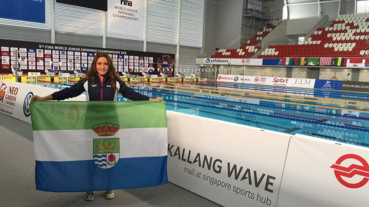 Una nadadora de Cúllar Vega representará a España en el Mundial de Singapur