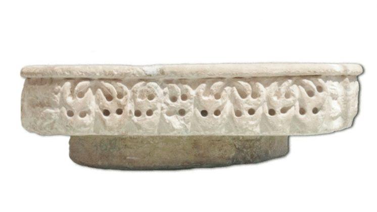 La Pila Califal destaca por sus reducidas dimensiones. Foto: Museo de la Alhambra