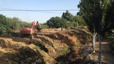 Limpiados los tramos más conflictivos de tres barrancos de Alhendín para evitar inundaciones