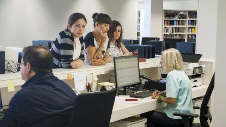 La biblioteca que comparten las facultades de Ciencias de la Salud y Medicina ya está operativa. Foto: J. Morales.