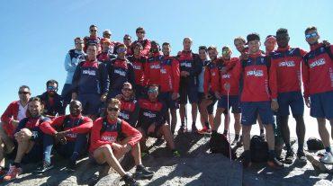 El Granada CF realiza una jornada de trabajo y convivencia en Sierra Nevada
