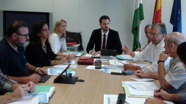 La Comisión Provincial de Prevención de Riesgos Laborales analiza la situación de la siniestralidad en Granada