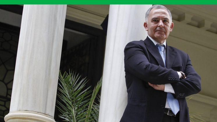 Santiago Pérez cumple ahora cuatro años al frente de la Subdelegación del Ejecutivo central en Granada. Foto: Álex Cámara