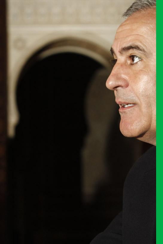 Pérez reconoce que quiere seguir al frente de la institución en la provincia, sí así lo desean los ciudadanos y su partido. Foto: Álex Cámara