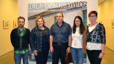 Los espacios vividos por Lorca, en una exposición en Fuente Vaqueros