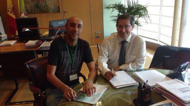 Los afectados por ELA reciben el respaldo y la solidaridad de la Diputación de Granada