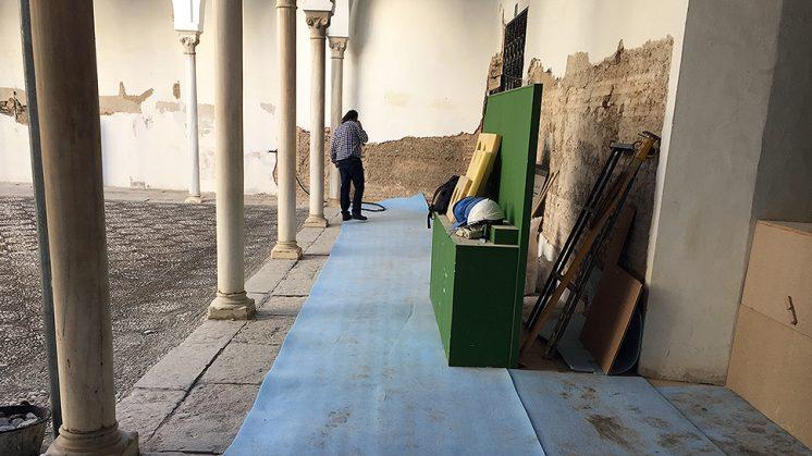 Las instalaciones del Museo Arqueológico, en donde se desarrollan los trabajos. Foto: L. F. Ruiz