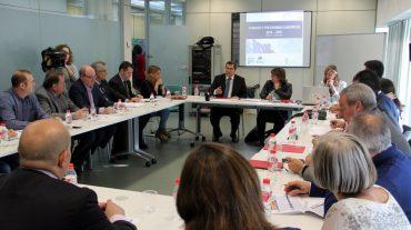 Diputación impulsa una estrategia de desarrollo provincial junto a agentes sociales y económicos