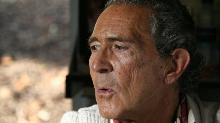 """El escritor ha declarado tener su corazón """"atesorado en Granada"""". Foto: Alejandro Stocker."""