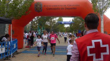 Unos 1.300 granadinos participan en la 'Carrera por la Infancia' de Cruz Roja