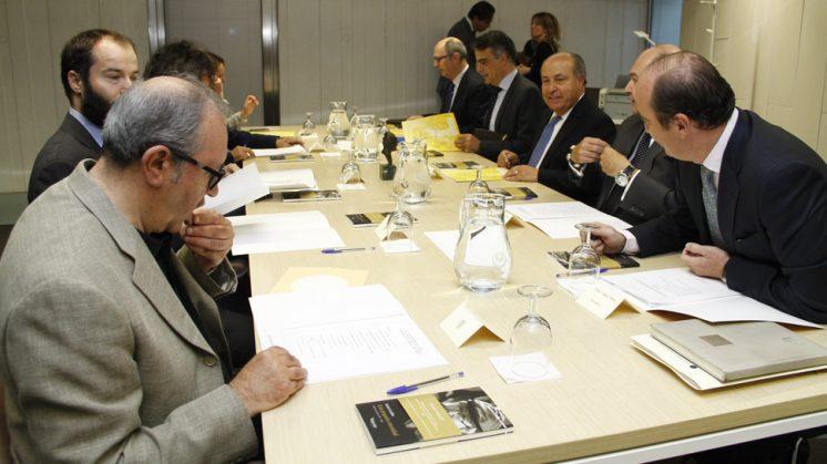 Por primera vez el Centro Lorca ha acogido una reunión de este premio. Foto: Álex Cámara