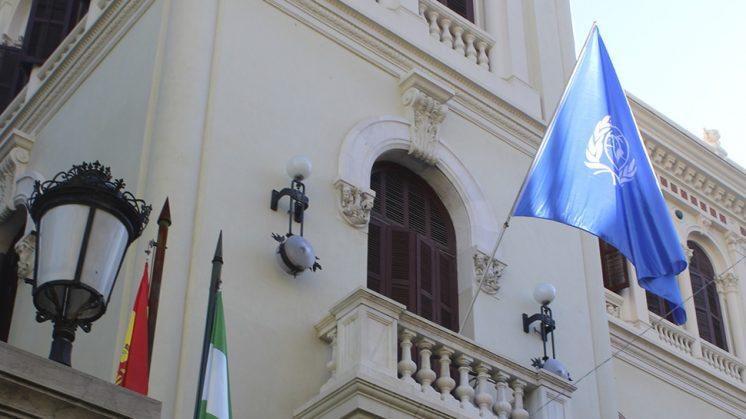 Este simbólico homenaje se celebra de manera simultánea en todas las Delegaciones y Subdelegaciones del Gobierno en España. Foto: aG