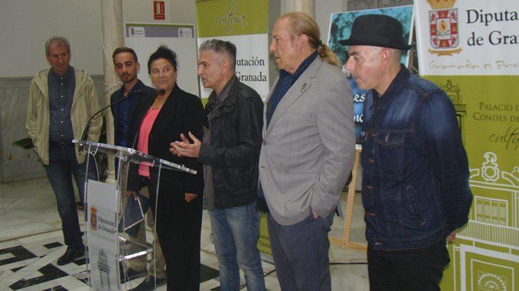 El día 29 concluyen los actos en el palacio Condes de Gabia, con el laboratorio coreográfico de Flamenco Urbano que ejecuta 'La Moneta' sobre un fragmento de 'Aguaespejo Granadino'. Foto: aG