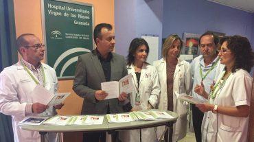 El Complejo Hospitalario Universitario de Granada promociona la lactancia materna