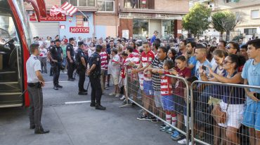 El Granada CF aumentará los controles de seguridad en el acceso al estadio este domingo