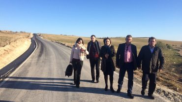 La Junta invierte 2,2 millones de euros en la mejora de un camino rural de 24 kilómetros de la Comarca de Alhama