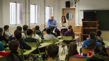 El alumnado de Armilla conoce la Constitución española