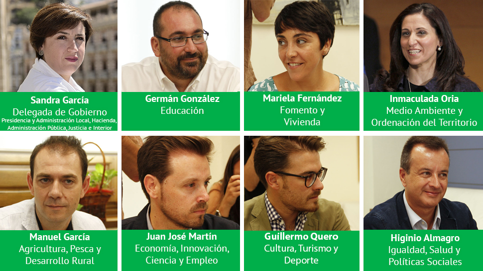 Delegados Junta de Andalucía Granada Diciembre 2015