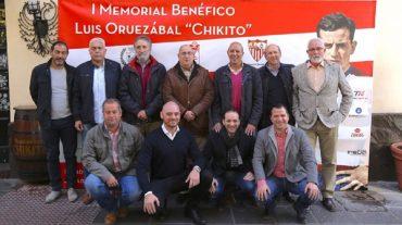 El I Memorial Luis Oruezábal 'Chikito', benéfico para ayudar a Carmen y Lucía