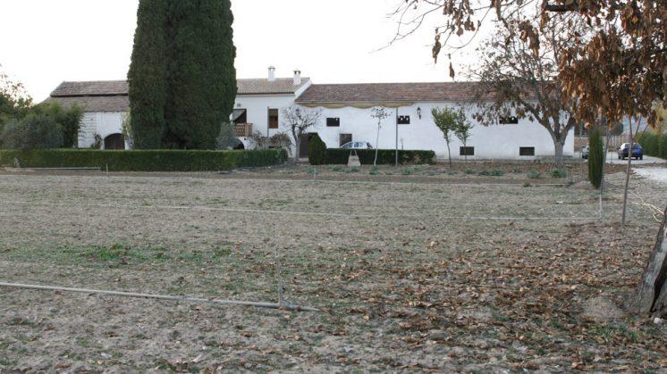 El Cortijo Los Parrales se encuentra en Valderrubio. Foto: Álex Cámara