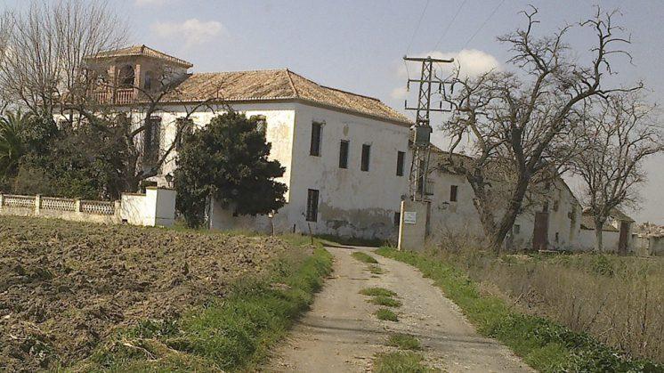 Cortijo de La Viña en Cúllar Vega. Foto: aG