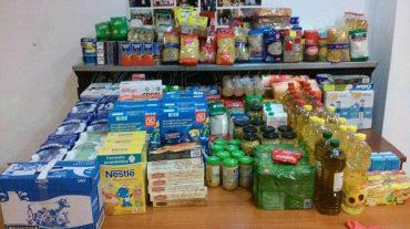 Jóvenes de Cúllar Vega recaudan más de 200 kilos de alimentos para los más necesitados