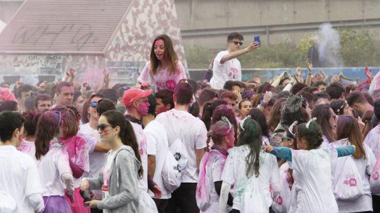 Un total de 8.000 jóvenes se han inscrito en este evento. Foto: Álex Cámara