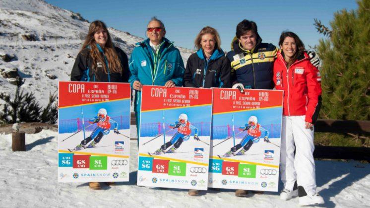 Sierra Nevada acoge la segunda fase de la Copa de España de esquí alpino. Foto: aG